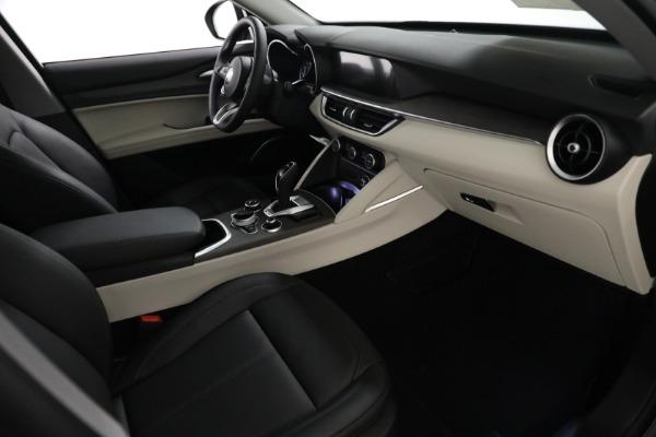 New 2021 Alfa Romeo Stelvio Ti Q4 for sale $54,400 at Rolls-Royce Motor Cars Greenwich in Greenwich CT 06830 20
