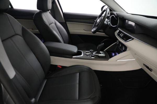 New 2021 Alfa Romeo Stelvio Ti Q4 for sale $54,400 at Rolls-Royce Motor Cars Greenwich in Greenwich CT 06830 21