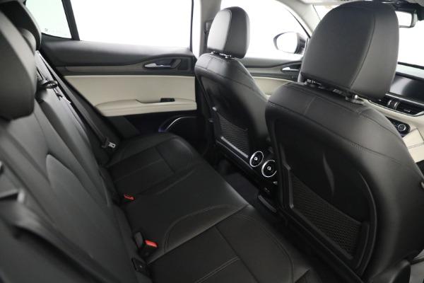 New 2021 Alfa Romeo Stelvio Ti Q4 for sale $54,400 at Rolls-Royce Motor Cars Greenwich in Greenwich CT 06830 22