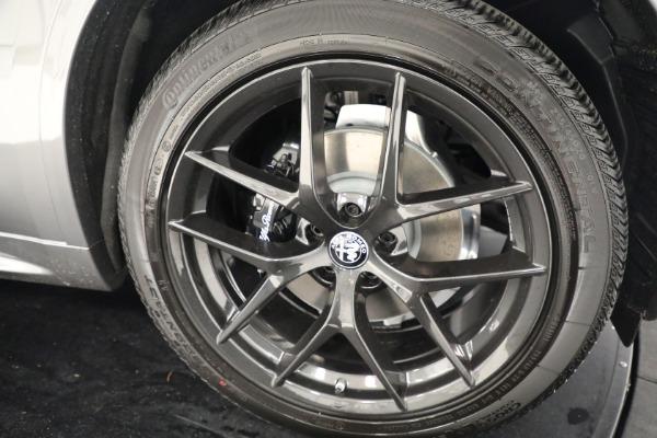 New 2021 Alfa Romeo Stelvio Ti Q4 for sale $54,400 at Rolls-Royce Motor Cars Greenwich in Greenwich CT 06830 25