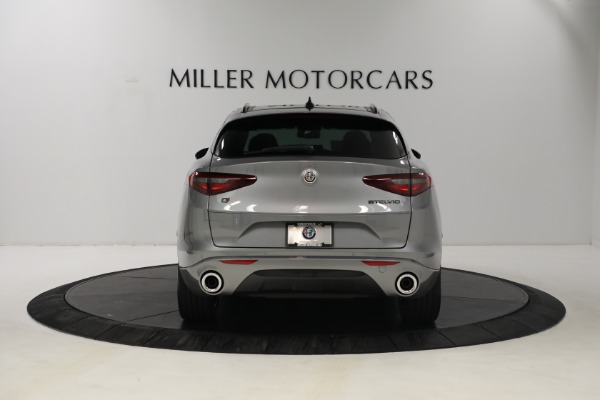 New 2021 Alfa Romeo Stelvio Ti Q4 for sale $54,400 at Rolls-Royce Motor Cars Greenwich in Greenwich CT 06830 6