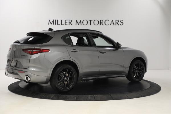 New 2021 Alfa Romeo Stelvio Ti Q4 for sale $54,400 at Rolls-Royce Motor Cars Greenwich in Greenwich CT 06830 8