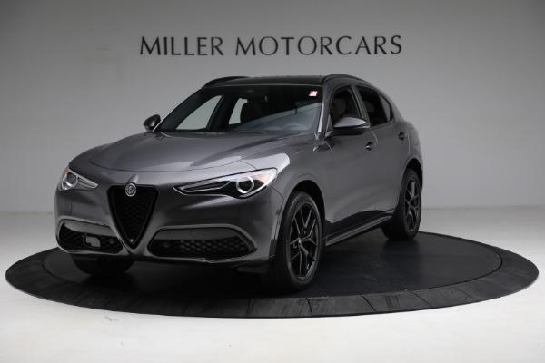 New 2021 Alfa Romeo Stelvio Ti Sport Q4 for sale $55,205 at Rolls-Royce Motor Cars Greenwich in Greenwich CT 06830 1