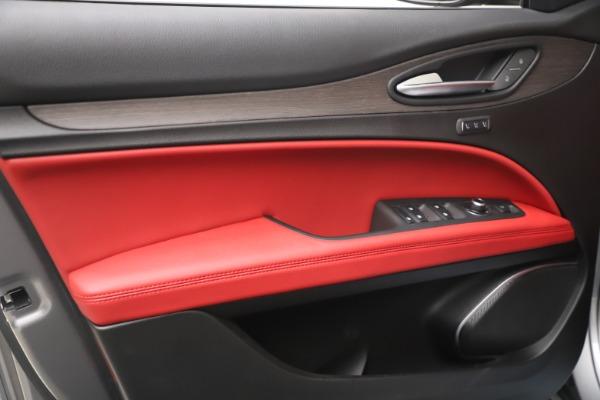 New 2021 Alfa Romeo Stelvio Ti Q4 for sale $54,400 at Rolls-Royce Motor Cars Greenwich in Greenwich CT 06830 13