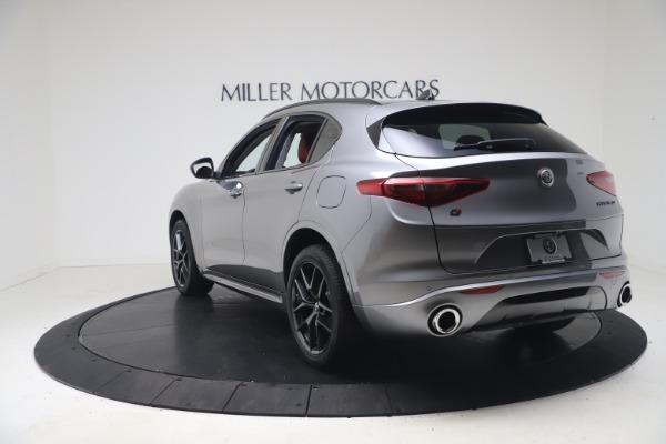 New 2021 Alfa Romeo Stelvio Ti Q4 for sale $54,400 at Rolls-Royce Motor Cars Greenwich in Greenwich CT 06830 5