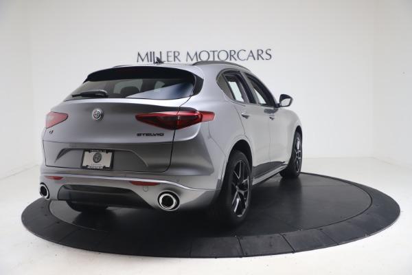 New 2021 Alfa Romeo Stelvio Ti Q4 for sale $54,400 at Rolls-Royce Motor Cars Greenwich in Greenwich CT 06830 7