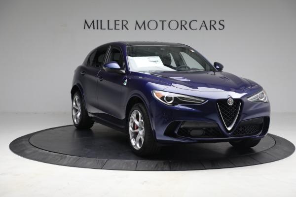 New 2021 Alfa Romeo Stelvio Quadrifoglio for sale $88,550 at Rolls-Royce Motor Cars Greenwich in Greenwich CT 06830 11