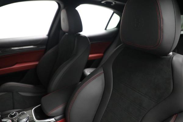 New 2021 Alfa Romeo Stelvio Quadrifoglio for sale $88,550 at Rolls-Royce Motor Cars Greenwich in Greenwich CT 06830 15