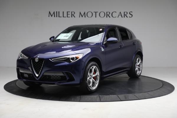 New 2021 Alfa Romeo Stelvio Quadrifoglio for sale $88,550 at Rolls-Royce Motor Cars Greenwich in Greenwich CT 06830 2