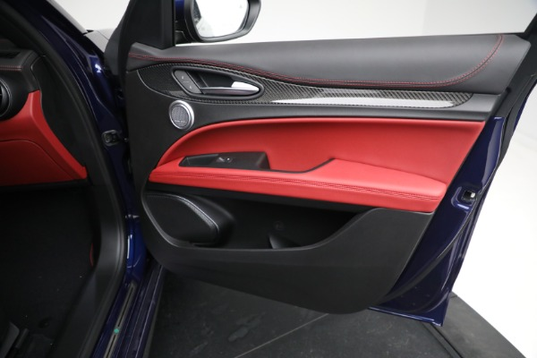 New 2021 Alfa Romeo Stelvio Quadrifoglio for sale $88,550 at Rolls-Royce Motor Cars Greenwich in Greenwich CT 06830 23