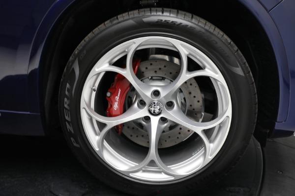 New 2021 Alfa Romeo Stelvio Quadrifoglio for sale $88,550 at Rolls-Royce Motor Cars Greenwich in Greenwich CT 06830 27