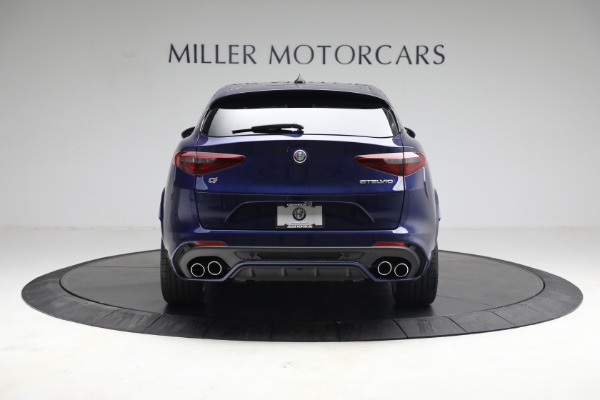 New 2021 Alfa Romeo Stelvio Quadrifoglio for sale $88,550 at Rolls-Royce Motor Cars Greenwich in Greenwich CT 06830 7