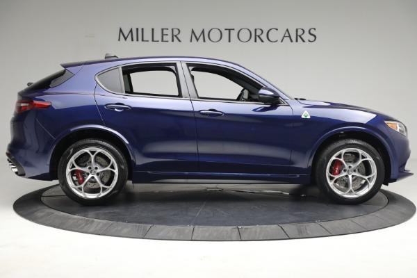 New 2021 Alfa Romeo Stelvio Quadrifoglio for sale $88,550 at Rolls-Royce Motor Cars Greenwich in Greenwich CT 06830 9