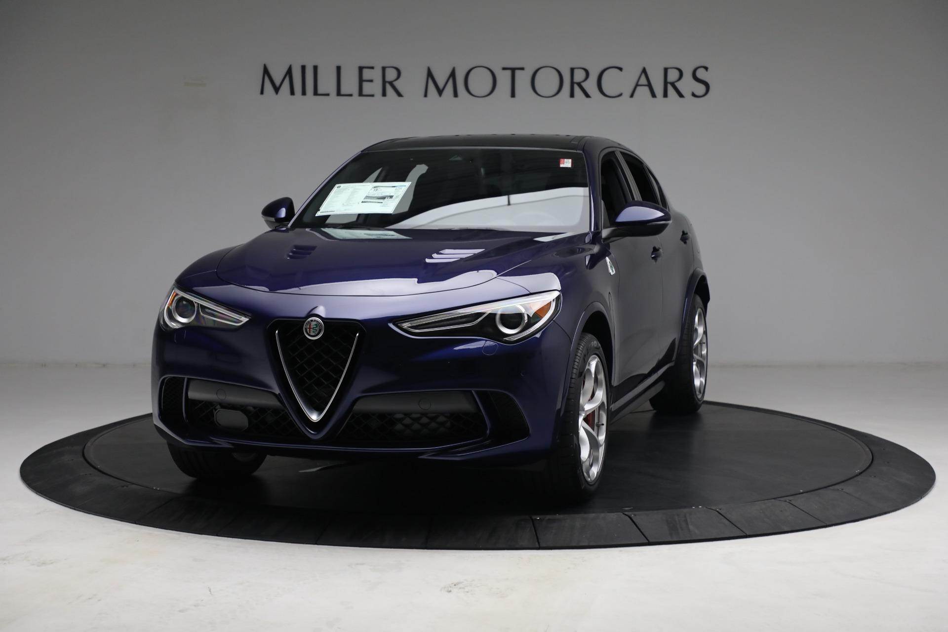 New 2021 Alfa Romeo Stelvio Quadrifoglio for sale $88,550 at Rolls-Royce Motor Cars Greenwich in Greenwich CT 06830 1
