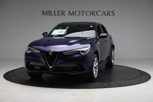 New 2021 Alfa Romeo Stelvio Quadrifoglio for sale $88,550 at Rolls-Royce Motor Cars Greenwich in Greenwich CT 06830 12