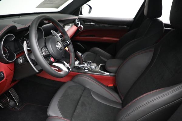 New 2021 Alfa Romeo Stelvio Quadrifoglio for sale $88,550 at Rolls-Royce Motor Cars Greenwich in Greenwich CT 06830 13