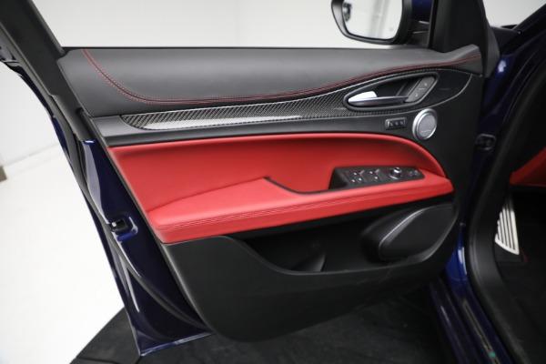 New 2021 Alfa Romeo Stelvio Quadrifoglio for sale $88,550 at Rolls-Royce Motor Cars Greenwich in Greenwich CT 06830 16