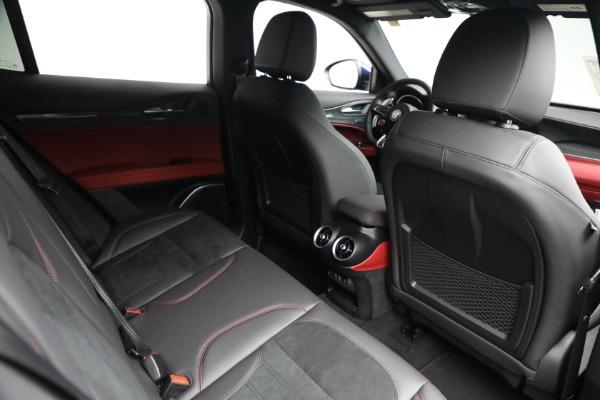New 2021 Alfa Romeo Stelvio Quadrifoglio for sale $88,550 at Rolls-Royce Motor Cars Greenwich in Greenwich CT 06830 24