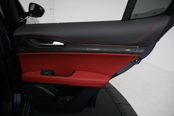 New 2021 Alfa Romeo Stelvio Quadrifoglio for sale $88,550 at Rolls-Royce Motor Cars Greenwich in Greenwich CT 06830 26