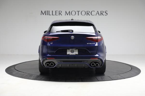 New 2021 Alfa Romeo Stelvio Quadrifoglio for sale $88,550 at Rolls-Royce Motor Cars Greenwich in Greenwich CT 06830 6