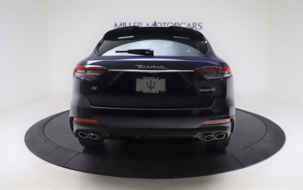 New 2021 Maserati Levante GranSport for sale Call for price at Rolls-Royce Motor Cars Greenwich in Greenwich CT 06830 6
