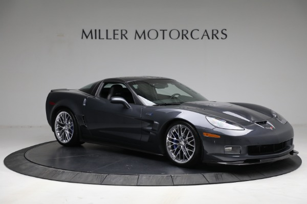 Used 2010 Chevrolet Corvette ZR1 for sale Call for price at Rolls-Royce Motor Cars Greenwich in Greenwich CT 06830 10