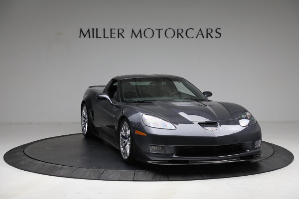 Used 2010 Chevrolet Corvette ZR1 for sale Call for price at Rolls-Royce Motor Cars Greenwich in Greenwich CT 06830 11