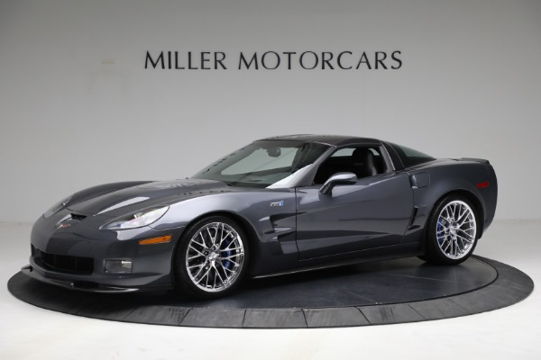 Used 2010 Chevrolet Corvette ZR1 for sale Call for price at Rolls-Royce Motor Cars Greenwich in Greenwich CT 06830 2