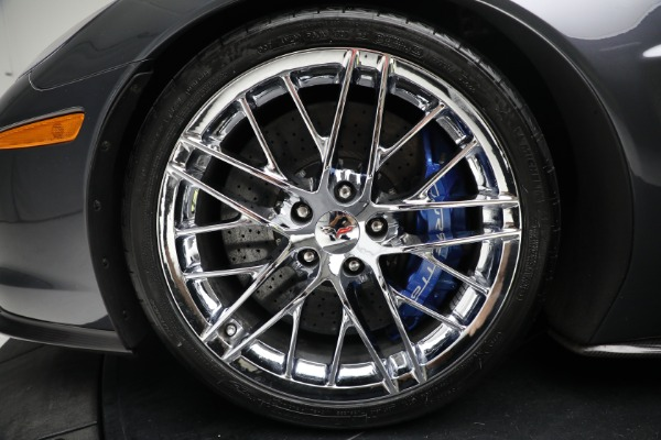 Used 2010 Chevrolet Corvette ZR1 for sale Call for price at Rolls-Royce Motor Cars Greenwich in Greenwich CT 06830 23