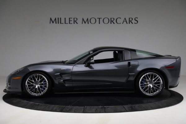 Used 2010 Chevrolet Corvette ZR1 for sale Call for price at Rolls-Royce Motor Cars Greenwich in Greenwich CT 06830 3