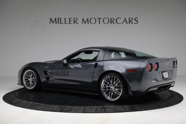 Used 2010 Chevrolet Corvette ZR1 for sale Call for price at Rolls-Royce Motor Cars Greenwich in Greenwich CT 06830 4