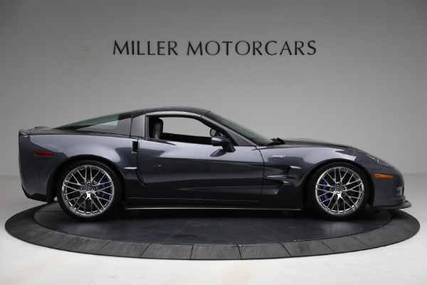 Used 2010 Chevrolet Corvette ZR1 for sale Call for price at Rolls-Royce Motor Cars Greenwich in Greenwich CT 06830 9