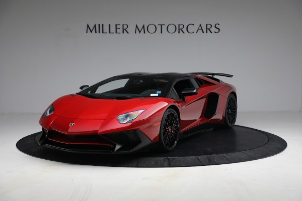 Used 2017 Lamborghini Aventador LP 750-4 SV for sale $599,900 at Rolls-Royce Motor Cars Greenwich in Greenwich CT 06830 10