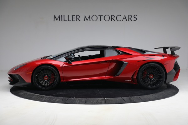 Used 2017 Lamborghini Aventador LP 750-4 SV for sale $599,900 at Rolls-Royce Motor Cars Greenwich in Greenwich CT 06830 11