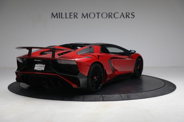 Used 2017 Lamborghini Aventador LP 750-4 SV for sale $599,900 at Rolls-Royce Motor Cars Greenwich in Greenwich CT 06830 13