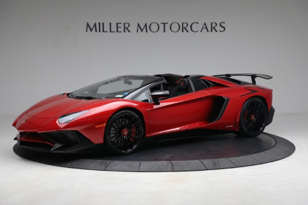 Used 2017 Lamborghini Aventador LP 750-4 SV for sale $599,900 at Rolls-Royce Motor Cars Greenwich in Greenwich CT 06830 2