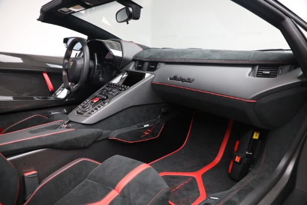 Used 2017 Lamborghini Aventador LP 750-4 SV for sale $599,900 at Rolls-Royce Motor Cars Greenwich in Greenwich CT 06830 22