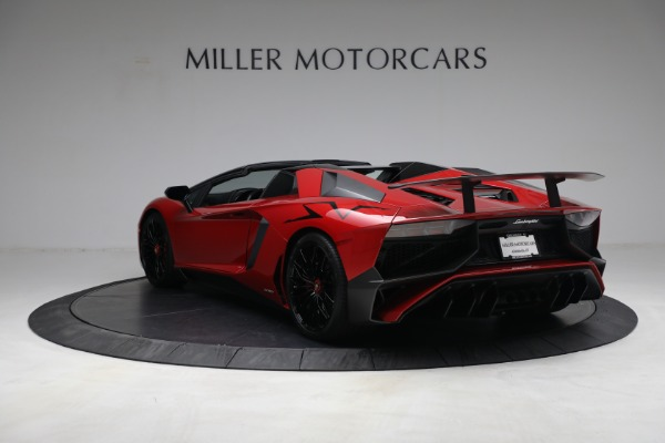 Used 2017 Lamborghini Aventador LP 750-4 SV for sale $599,900 at Rolls-Royce Motor Cars Greenwich in Greenwich CT 06830 5