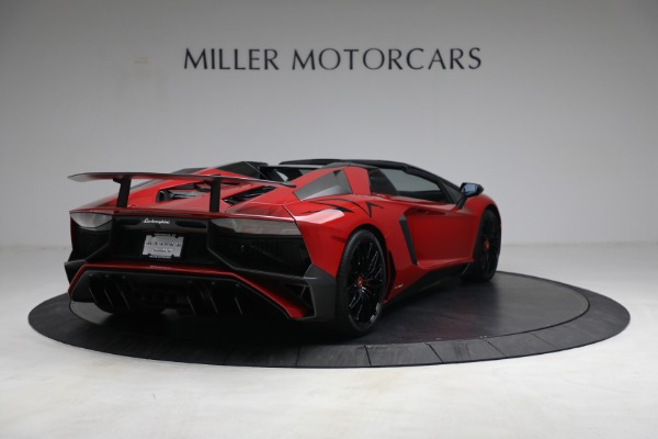 Used 2017 Lamborghini Aventador LP 750-4 SV for sale $599,900 at Rolls-Royce Motor Cars Greenwich in Greenwich CT 06830 7