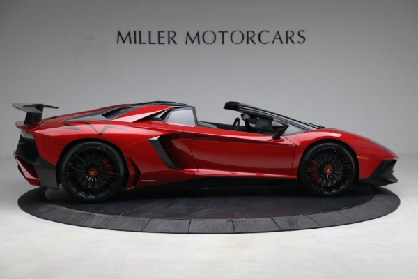Used 2017 Lamborghini Aventador LP 750-4 SV for sale $599,900 at Rolls-Royce Motor Cars Greenwich in Greenwich CT 06830 8