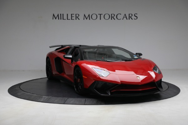 Used 2017 Lamborghini Aventador LP 750-4 SV for sale $599,900 at Rolls-Royce Motor Cars Greenwich in Greenwich CT 06830 9