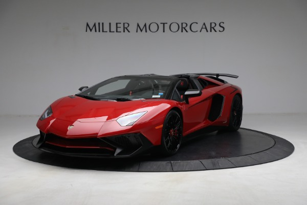 Used 2017 Lamborghini Aventador LP 750-4 SV for sale $599,900 at Rolls-Royce Motor Cars Greenwich in Greenwich CT 06830 1