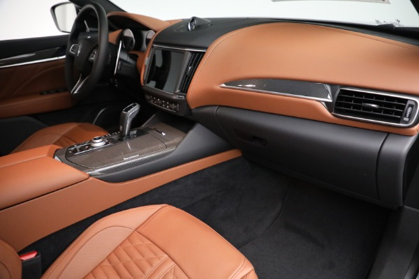 New 2021 Maserati Levante S GranSport for sale $112,899 at Rolls-Royce Motor Cars Greenwich in Greenwich CT 06830 19