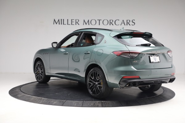 New 2021 Maserati Levante S GranSport for sale $112,899 at Rolls-Royce Motor Cars Greenwich in Greenwich CT 06830 5