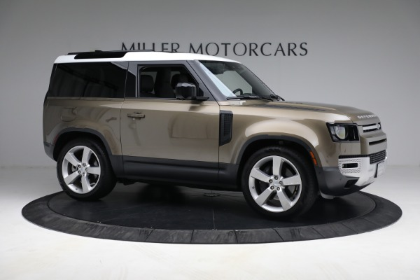 Used 2021 Land Rover Defender 90 First Edition for sale $69,900 at Rolls-Royce Motor Cars Greenwich in Greenwich CT 06830 10