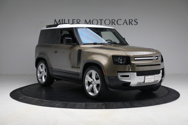 Used 2021 Land Rover Defender 90 First Edition for sale $69,900 at Rolls-Royce Motor Cars Greenwich in Greenwich CT 06830 11
