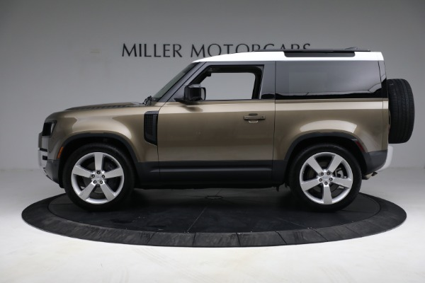 Used 2021 Land Rover Defender 90 First Edition for sale $69,900 at Rolls-Royce Motor Cars Greenwich in Greenwich CT 06830 13