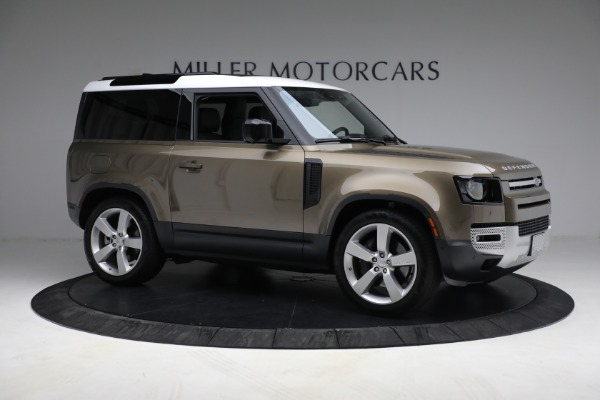 Used 2021 Land Rover Defender 90 First Edition for sale $69,900 at Rolls-Royce Motor Cars Greenwich in Greenwich CT 06830 15