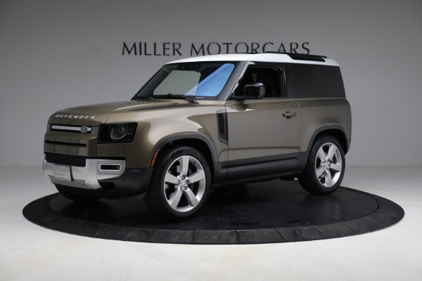 Used 2021 Land Rover Defender 90 First Edition for sale $69,900 at Rolls-Royce Motor Cars Greenwich in Greenwich CT 06830 2