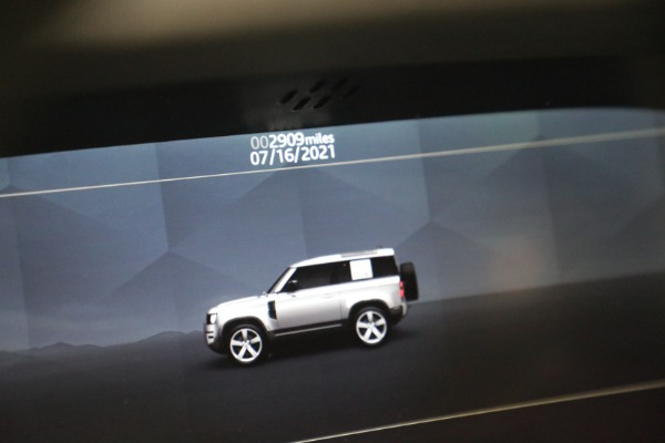 Used 2021 Land Rover Defender 90 First Edition for sale $69,900 at Rolls-Royce Motor Cars Greenwich in Greenwich CT 06830 24